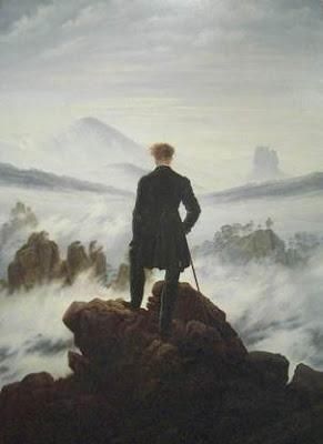 Caspar Friedrich Caminante sobre el mar de niebla