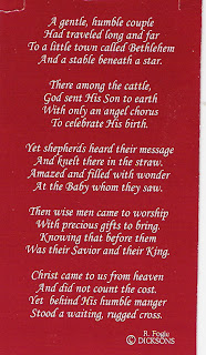 Young at Heart: The Poem for the Christmas Cross