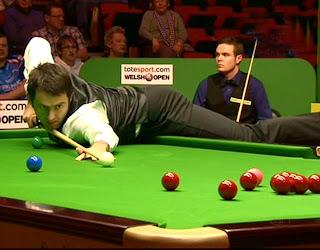 снукер Ронни О'Салливана на Welsh Open при всех громких цифрах на табло пока разочаровывает
