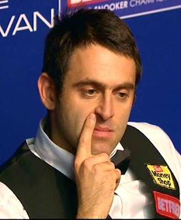 Ронни О'Салливан в четвертьфинале чемпионата мира по снукеру ничем не порадовал своих болельщиков