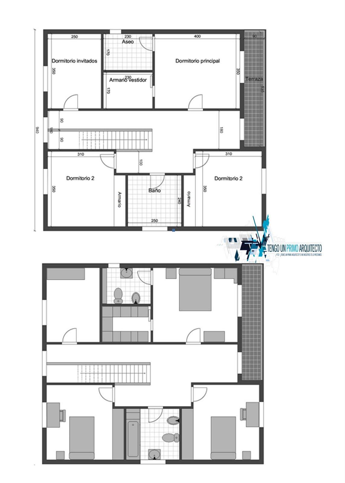 Baño Vestidor Planta:Tengounprimoarquitecto: planes para una futura construcción