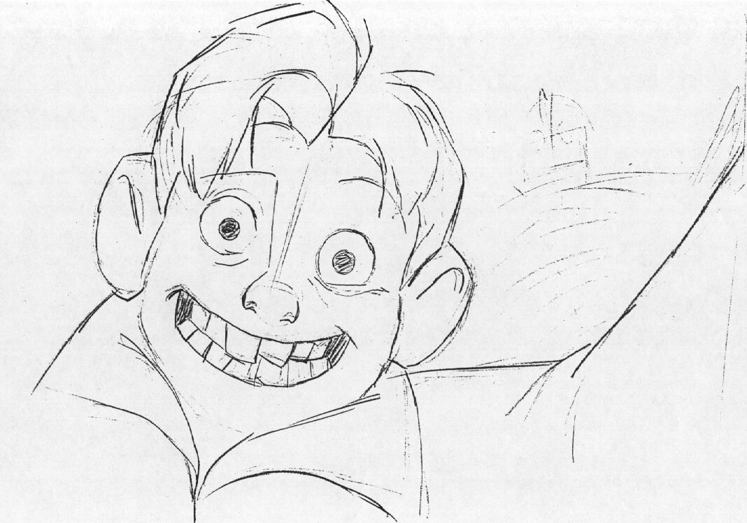 coloring pages iron giant boy - photo#6