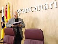 El consejero de Política Territorial del Cabildo de Gran Canaria, Emilio Mayoral