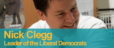 Nick Clegg's Messsage of Hope