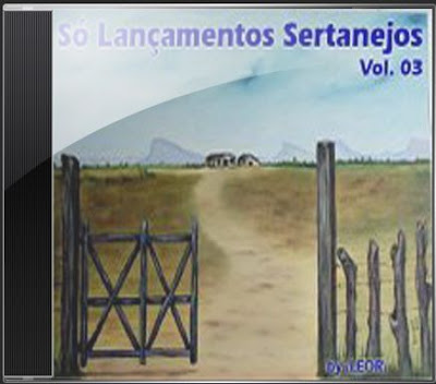 JEWEL+CASE Cd - Só Lançamentos Sertanejos Vol. 03