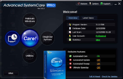 systemcare pro 1553 Advanced SystemCare Professional 3.3.0.646 Multilingual