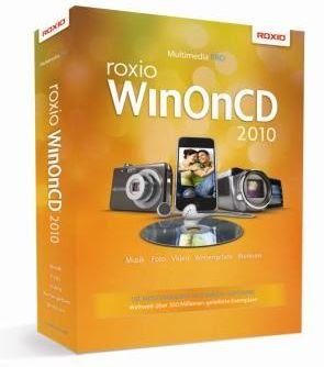 WinOnCD+2010+Packshot Roxio WinOnCD 2010