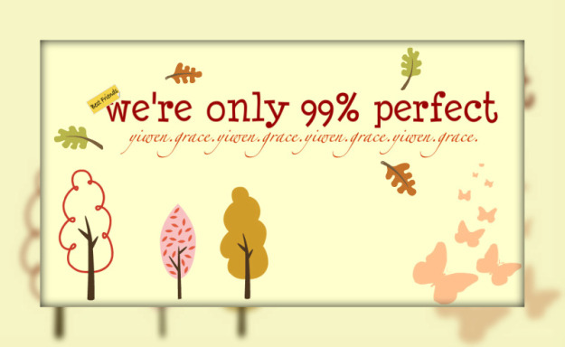 we're only 99% perfect