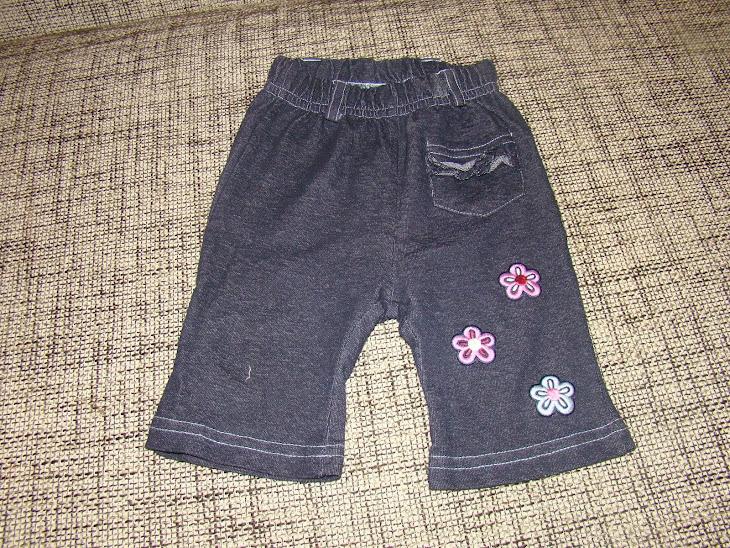 "Pantalonasi""DOPODOPO"" cu broderie, 3-6 luni, pret 15 ron"