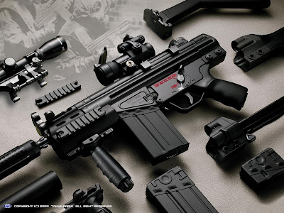 Heckler & Koch G3 Gun Wallpaper