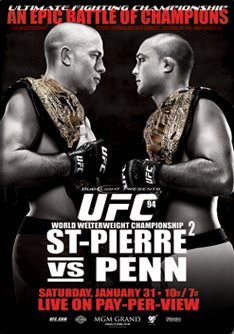 UFC 94 Georges St Pierre vs BJ Penn Photo