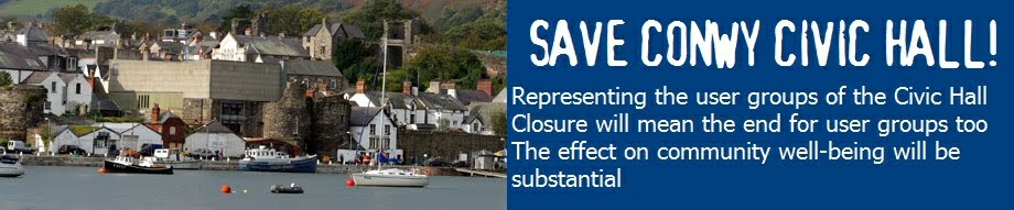 Save Conwy Civic Hall!