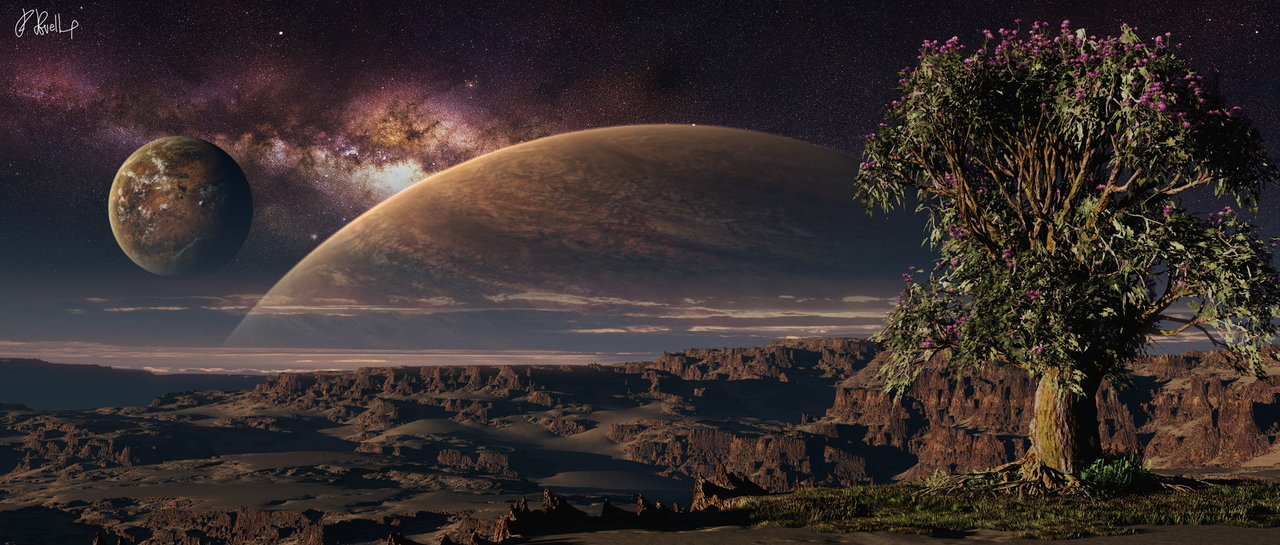 Hunt for Alien Earths: Extrasolar Planet Art Gallery