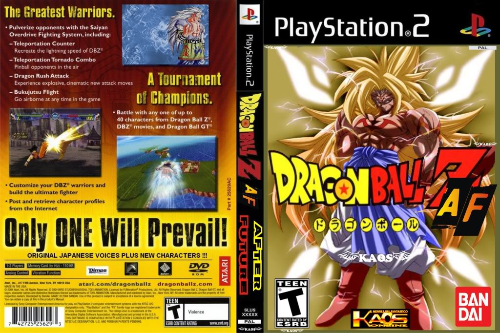 dragon ball budokai af ps2 parte 1