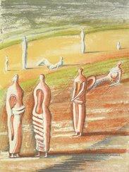 Goethes Prometheus, ein Malerbuch von Henry Moore - Prägedrucke