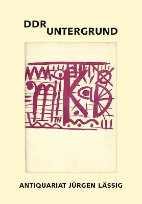 Antiquariatskatalog DDR Untergrund