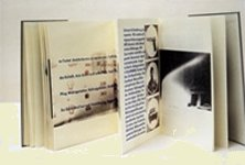 Ortsbegehung oder Spazierfahrt eines Augenmenschen, Buchobjekt 2003 Annett Gröschner zus. m. Karin Innerling