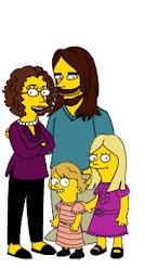 My family Simpsonized