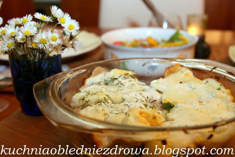 Kuchnia Obłędnie Zdrowa Zapiekane śledzie Z Kartoflami I