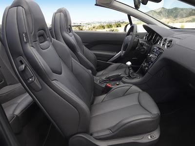 2009 Peugeot 308 CC interior