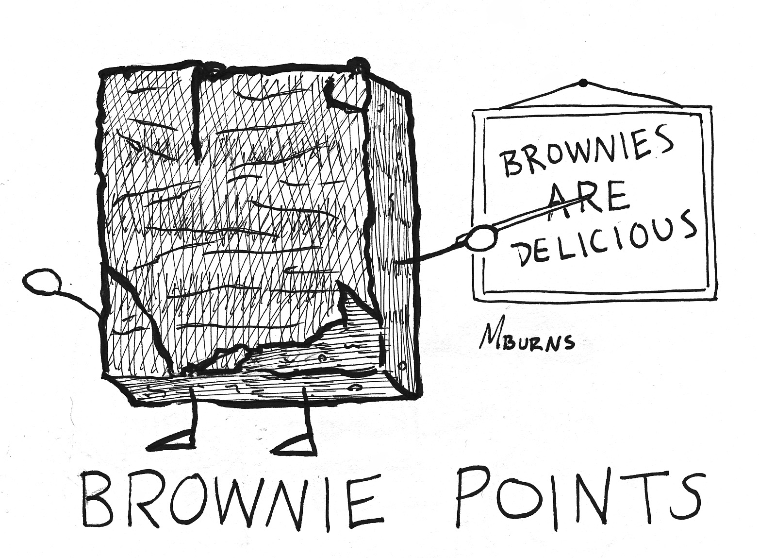 u0026quot comic strip u0026quot  by mike burns  bastard  brownie points