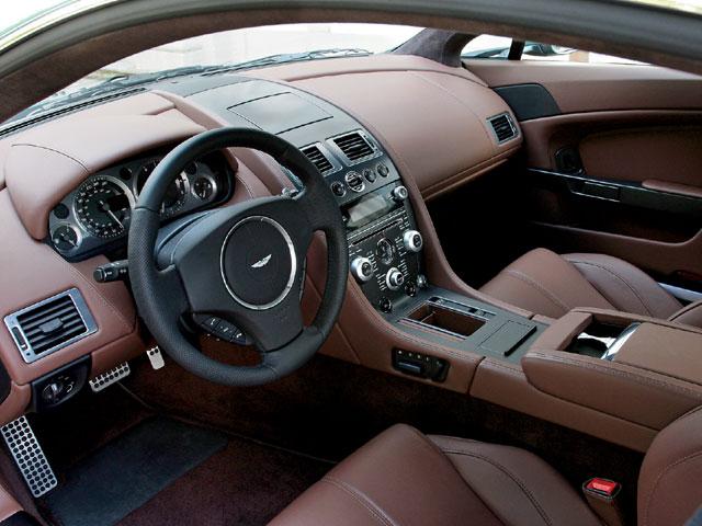 Aston Martin Vantage V12 Interior