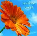 Sunshine Award!