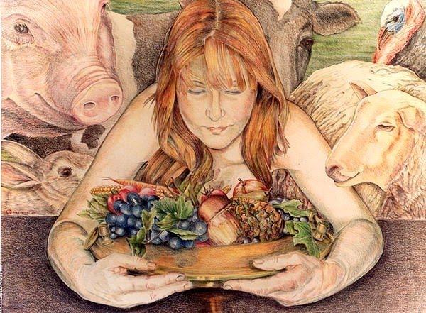 Sou vegetariana por amor aos animais