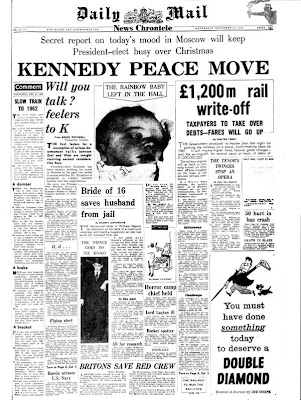 Daily Mail 21 Dec 1960