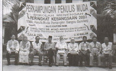Moderator Perkampungan Penulis Muda SM Malaysia 2003