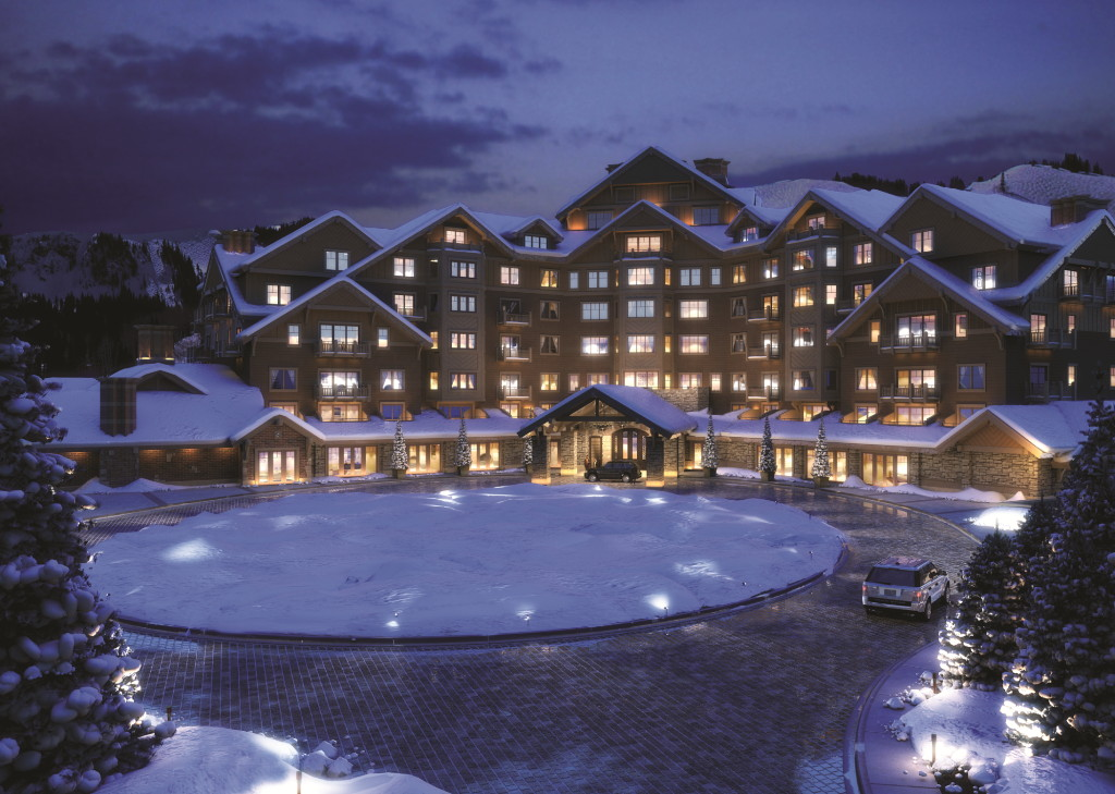 Justluxe montage deer valley luxury ski resort opens for Snow cabins near los angeles