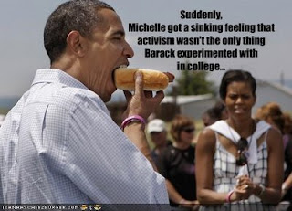 obama gay hot dog