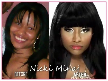 Nicki Minaj before the booty implants. Neil Grant (who introduced