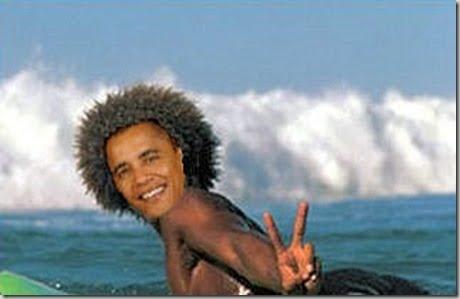 OBAMA SURFA!