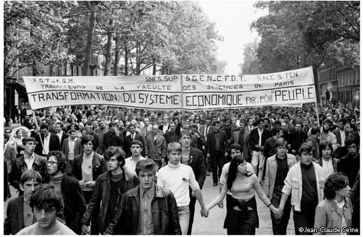 Manifestación. Jóvenes en marcha.