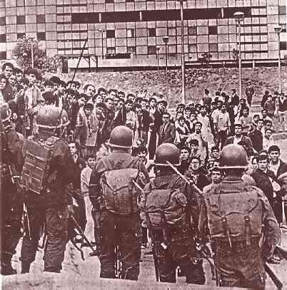 Tlatelolco, México. 2 de octubre de 1968