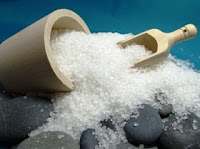 Sea salt against stress and… cellulite