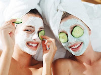 Cucumber for skin care
