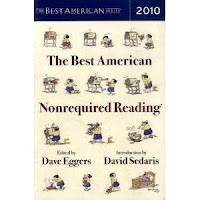 The Best American Nonrequired Reading 2010 Ed David Eggers and David Sedaris