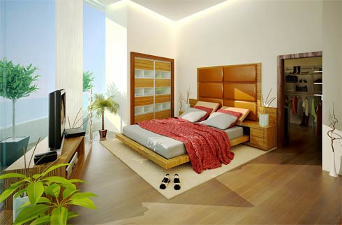 Modern Master Bedrooms Designed By Semsa Bilge ~ Inspiring Bedrooms