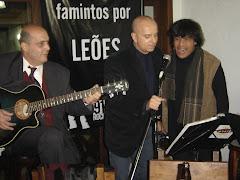 Com Mario D'Andreia ( um dos maiores publicitários do Brasil ) dando uma canja