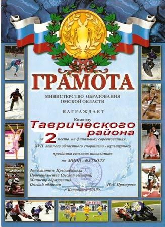 СПАРТАКИАДА ШКОЛЬНИКОВ. Калачинск - 2010.