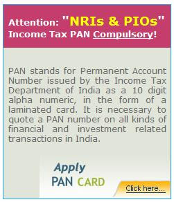 PAN Card for NRIs
