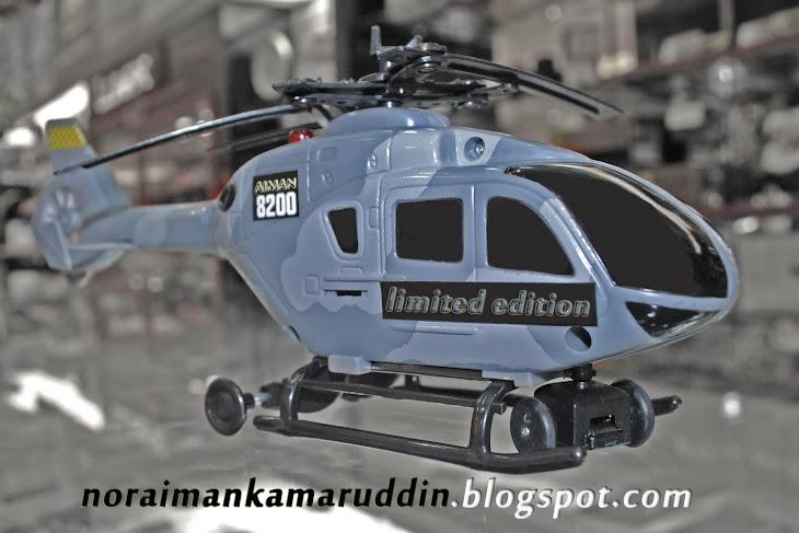 Helikopter masa aku kecil2 dulu