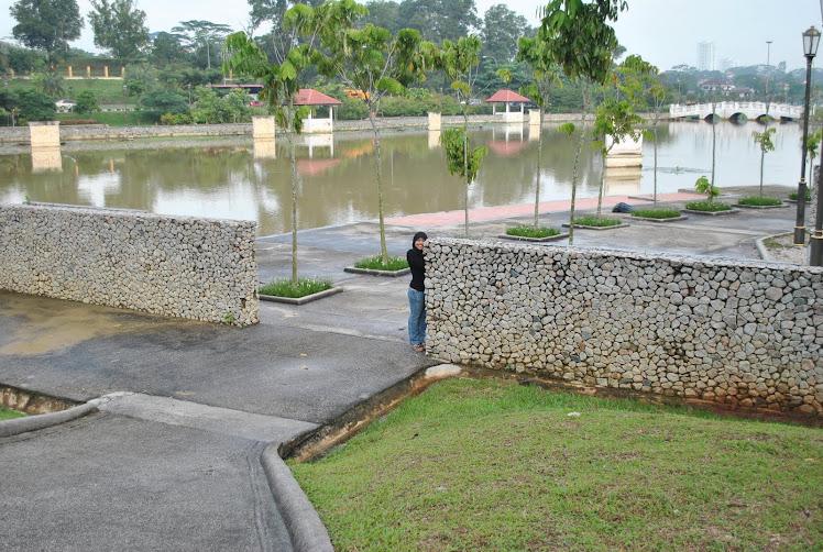 Keindahan sebuah  taman