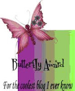 Butterfly Award... coolest blog