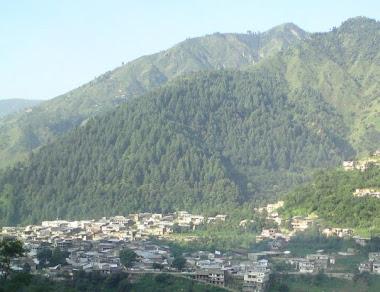 Village Shahpur Shangla