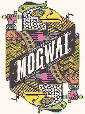 Poster y Flyers Mogwai+poster