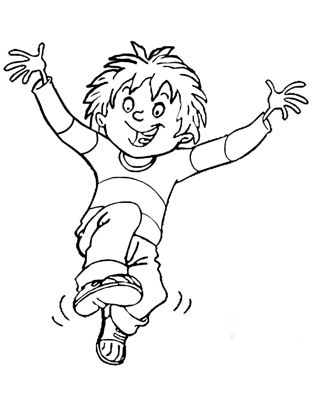 horrid henry coloring pages sketch page