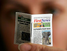 WORLD'S SMALLEST NEWSPAPER